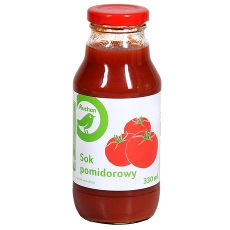Auchan - Sok pomidorowy, 100%