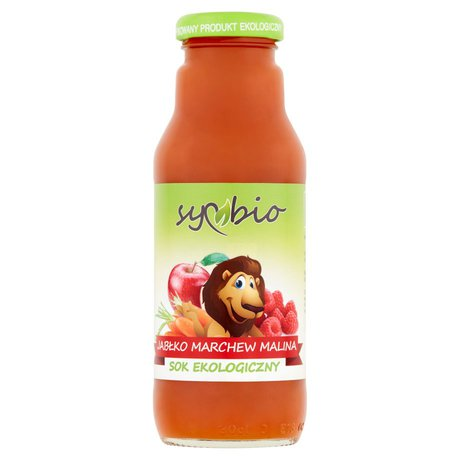 Symbio - sok jabłko-marchew-banan Bio