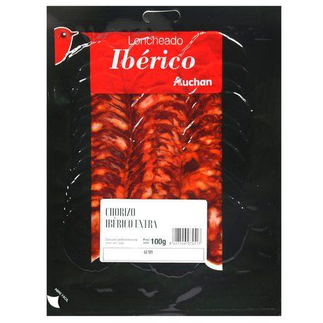 Auchan - Kiełbasa Chorizo Iberico extra