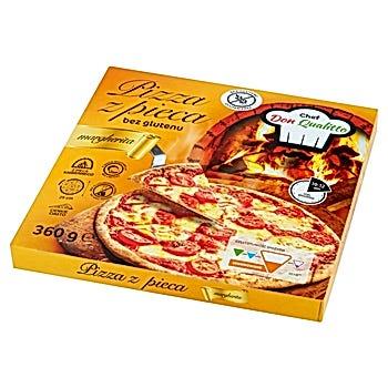 Chef Don Qualitto Pizza z pieca bez glutenu margherita