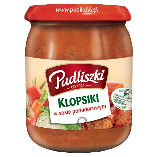 Pudliszki Klopsiki w sosie pomidorowym