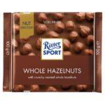 Ritter Sport - czekolada mleczna z całymi orzechami laskowymi