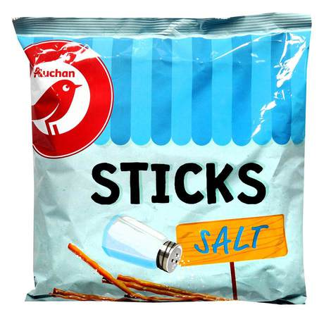 Auchan - paluszki z solą