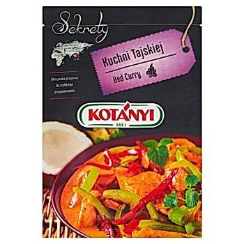 Kotányi Sekrety Kuchni Tajskiej Red Curry Mieszanka przypraw