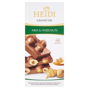 Heidi Grand?or Mleczna Czekolada Z Karmelizowanymi Orzechami Laskowymi