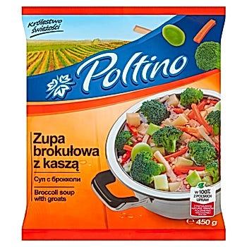 Poltino Zupa brokułowa z kaszą