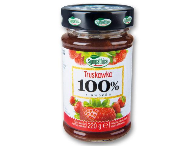 Sympathica 100% truskawka (Lidl)