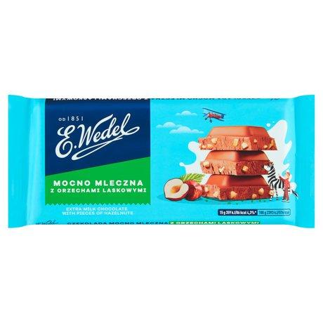 E. Wedel czekolada mleczna z orzechami laskowymi