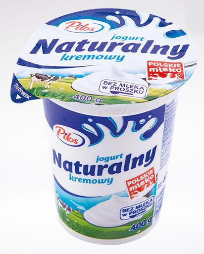 Pilos, Jogurt naturalny