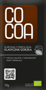 COCOA Czekolada klasyczna gorzka BIO