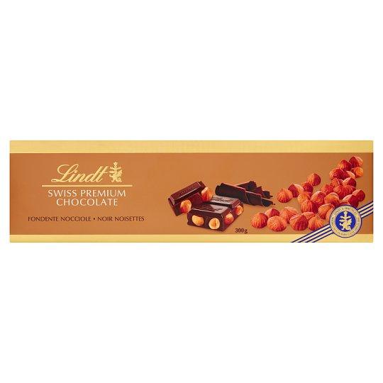 Lindt Szwajcarska czekolada deserowa z całymi orzechami laskowymi prażonymi
