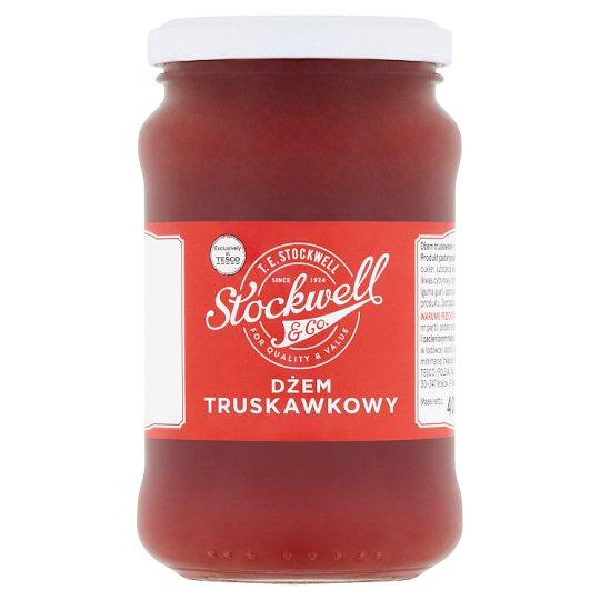 Stockwell & Co. Dżem truskawkowy o obniżonej zawartości cukrów