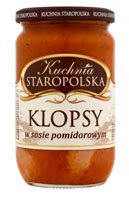 KUCHNIA STAROPOLSKA Klopsiki w sosie pomidorowym