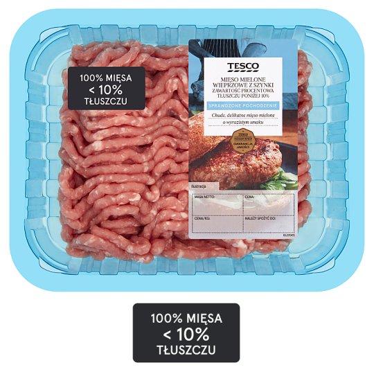 Tesco Mięso mielone wieprzowe z szynki