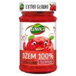 Łowicz Dżem 100% z owoców extra gładki truskawka