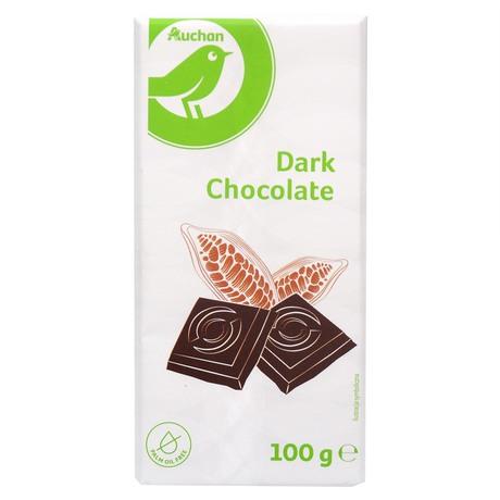 Auchan - czekolada gorzka