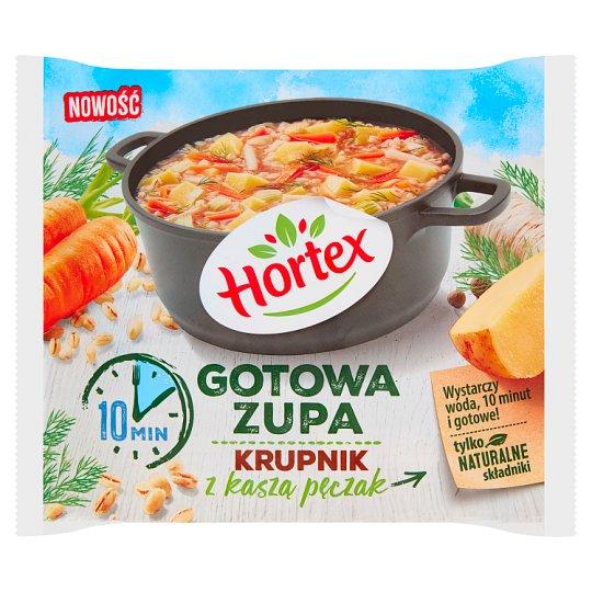 Hortex Gotowa zupa krupnik z kaszą pęczak