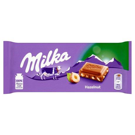 Milka - Czekolada z orzechami