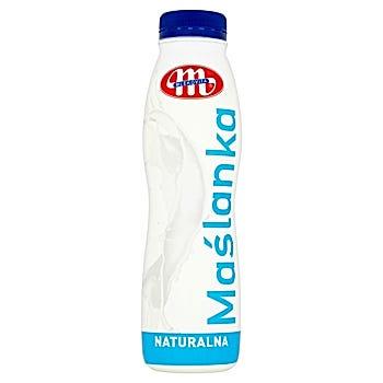 Mlekovita Maślanka naturalna