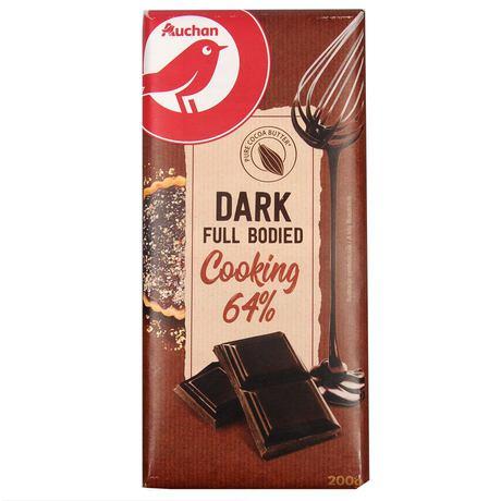 Auchan - czekolada gorzka 64% kakao