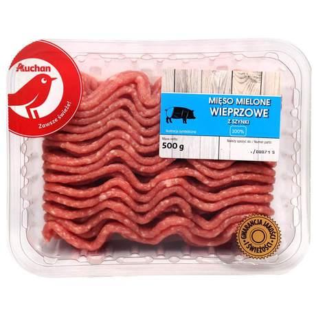 Auchan - Mięso mielone wieprzowe z szynki