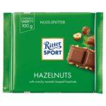 Ritter Sport - czekolada mleczna z ciętymi orzechami