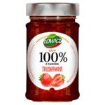 Łowicz Dżem 100% z owoców truskawka