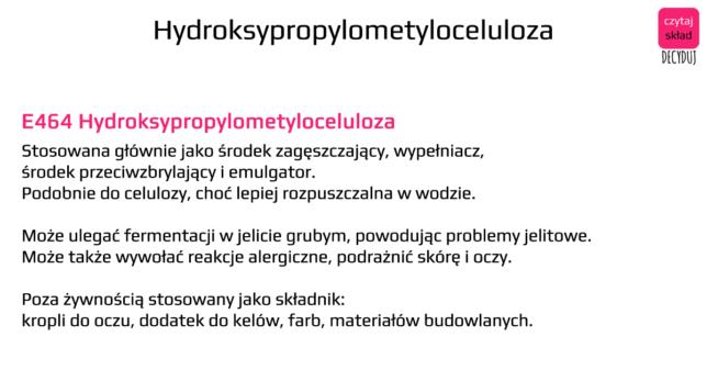 hydroksypropylometyloceluloza