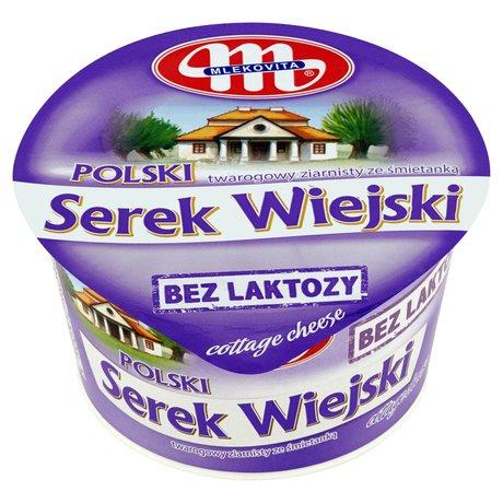 Mlekovita - Serek twarogowy ziarnisty ze śmietanką bez laktozy