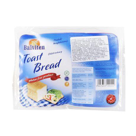 Balviten - Chleb tostowy bezglutenowy