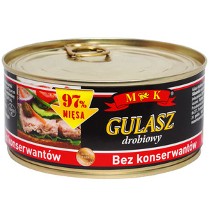 Mk Konserwa Gulasz Drobiowy