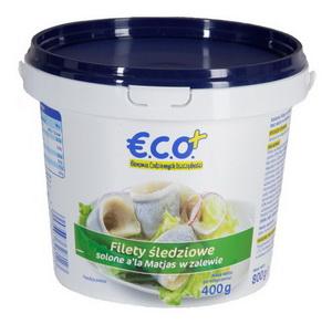 Eco+ Filety Ze Śledzia A'la Matjas Solone Bez Skóry