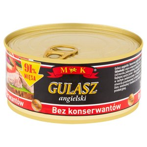 Mk Konserwa Gulasz Angielski