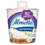 Almette Puszysty serek twarogowy śmietankowy bez laktozy