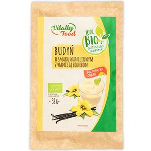 Vitally Food Budyń O Smaku Waniliowym Z Wanilią Bourbon Bio