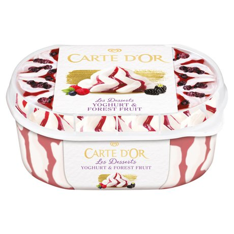 Carte D'Or - Lody Les Desserts Forest Fruit jogurtowe