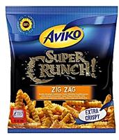 Aviko Super Crunch Zig Zag Bardzo chrupiące i karbowane frytki