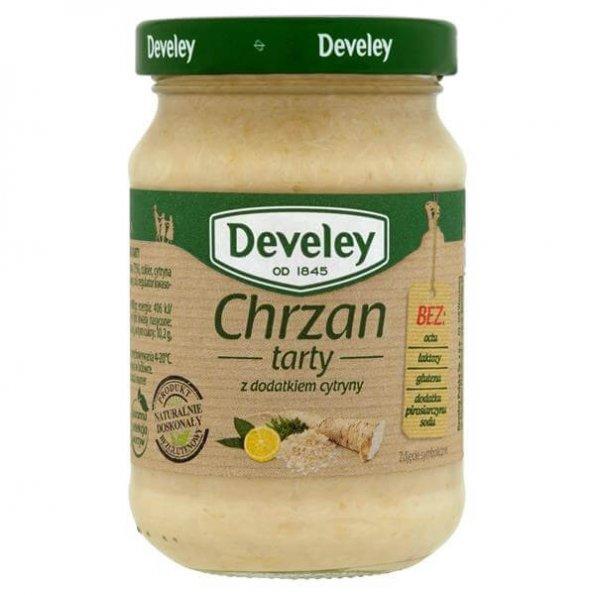 Develey Chrzan tarty z dodatkiem cytryny