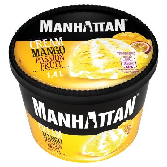 Manhattan Lody ze śmietanką i sorbet mango-marakuja