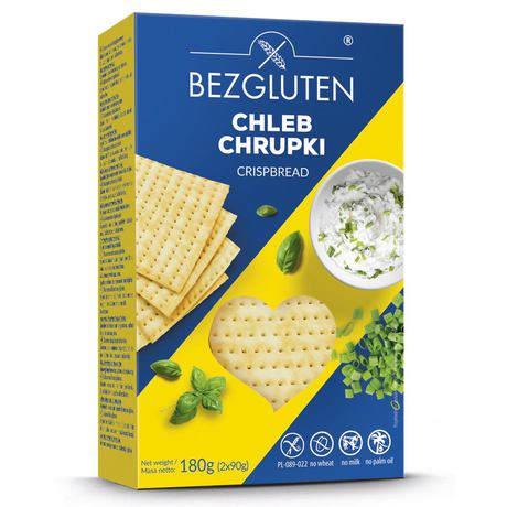 Bezgluten - Chleb chrupki bezglutenowy