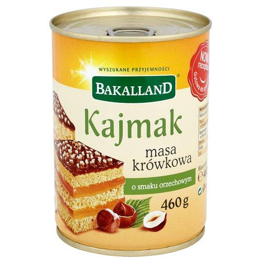 Bakalland Kajmak masa krówkowa o smaku orzechowym