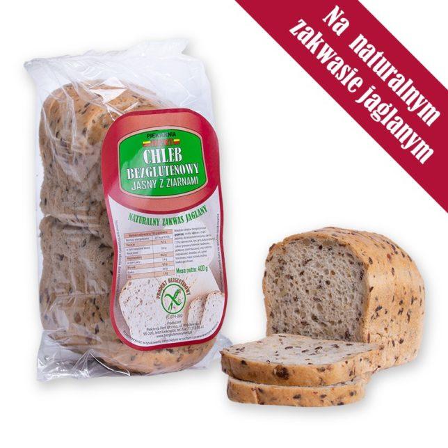 Hert, Chleb bezglutenowy jasny z ziarnami