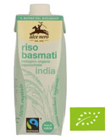 ALCE NERO Napój ryżowy Basmati z Wapniem BIO