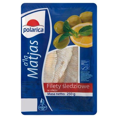 Polarica - Filety śledziowe w oleju a'la Matjas
