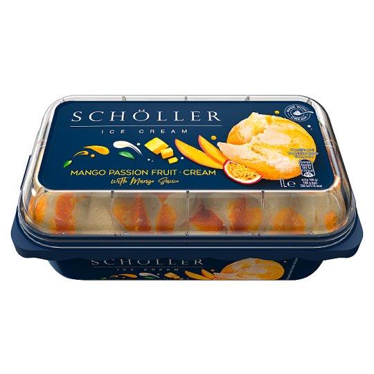 Schöller Lody śmietankowe i sorbet mango-marakuja z sosem mango