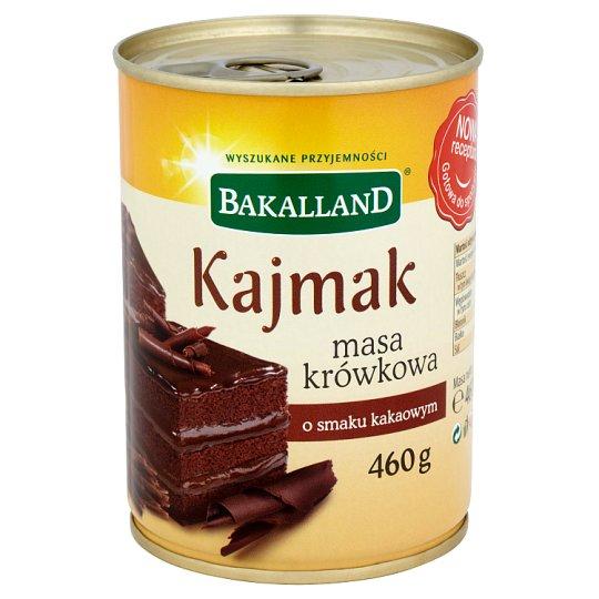Bakalland Kajmak masa krówkowa o smaku kakaowym