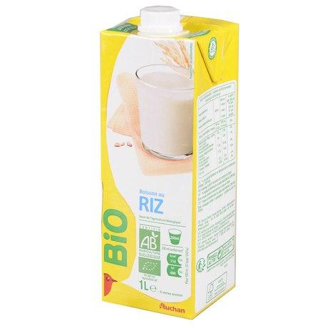 Auchan - Napój ryżowy naturalny