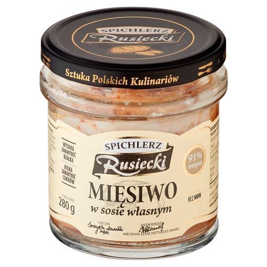 Spichlerz Rusiecki Mięsiwo w sosie własnym