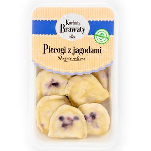 Kuchnia Brawaty Pierogi Z Jagodami