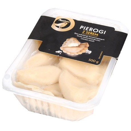 Auchan - Pierogi z serem